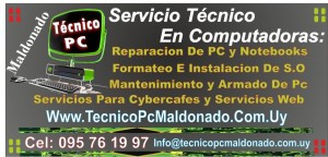 Tecnico Pc Maldonado