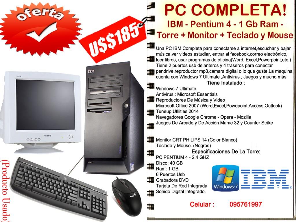 IBM - Pentium 4 - Completa