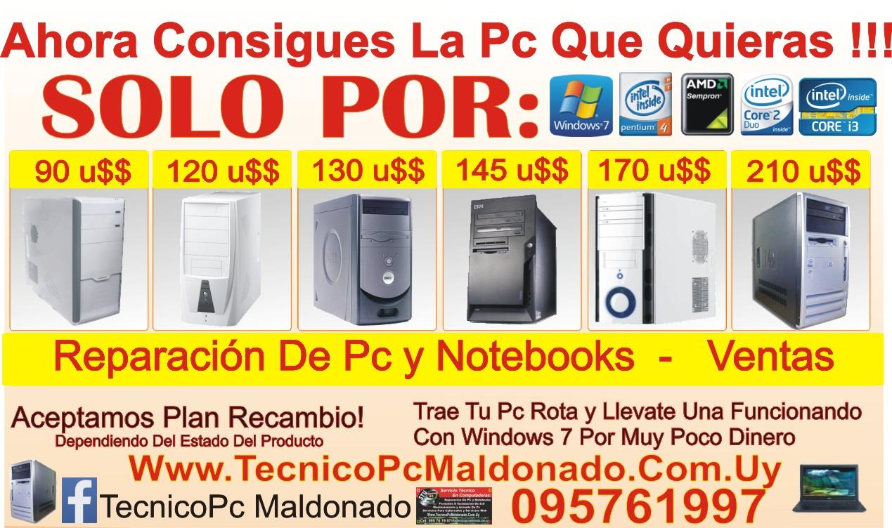Ventas Pc Maldonado